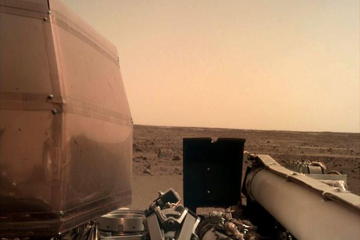 Perfetto l'atterraggio su Marte di InSight che adesso si prepara per iniziare il proprio lavoro