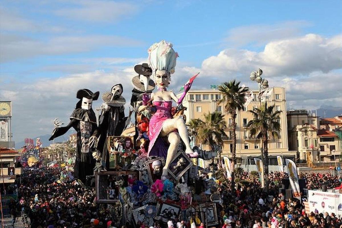 Domenica 12 marzo Viareggio premia i protagonisti del Carnevale 2017