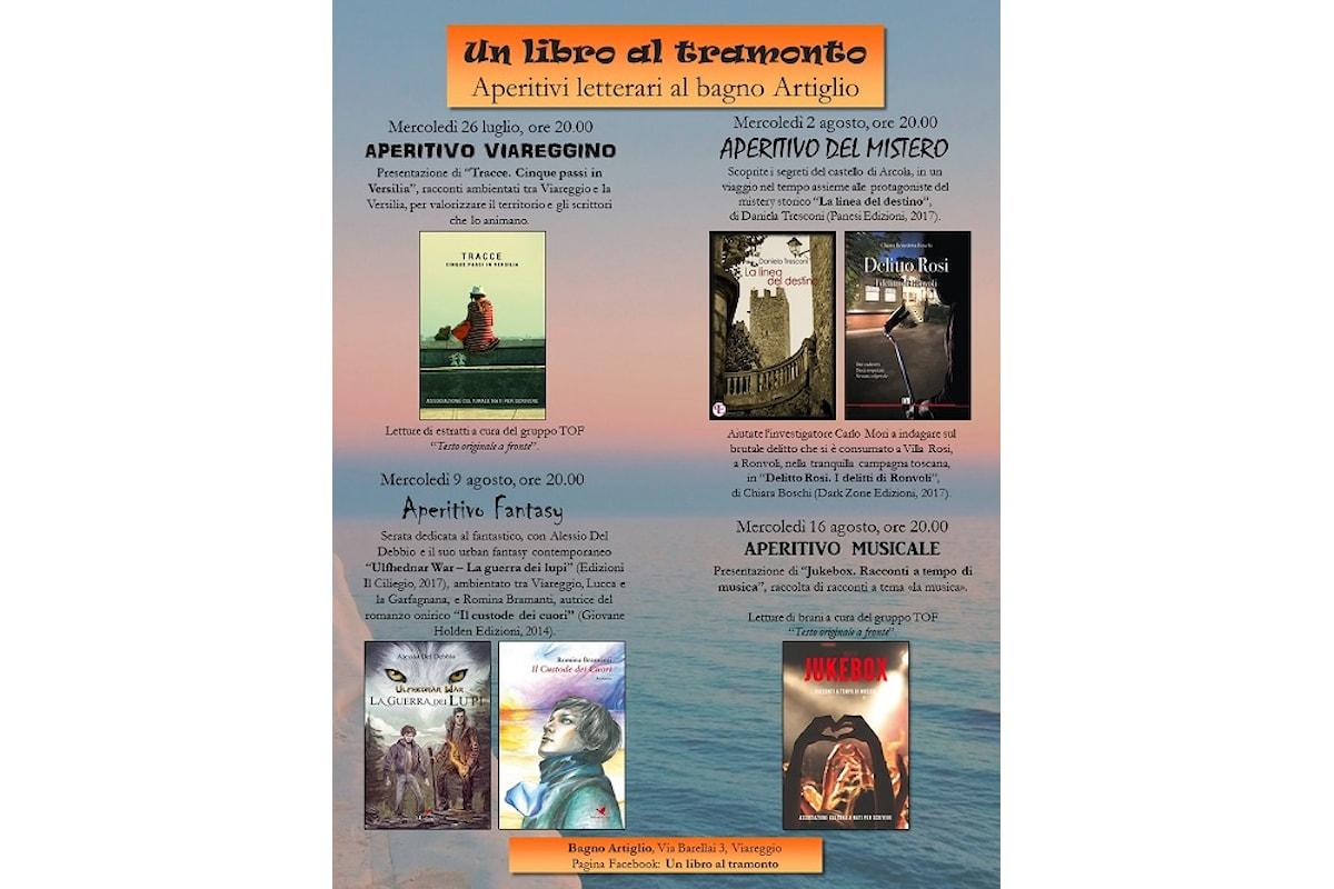 Viareggio, Un libro al tramonto 2017