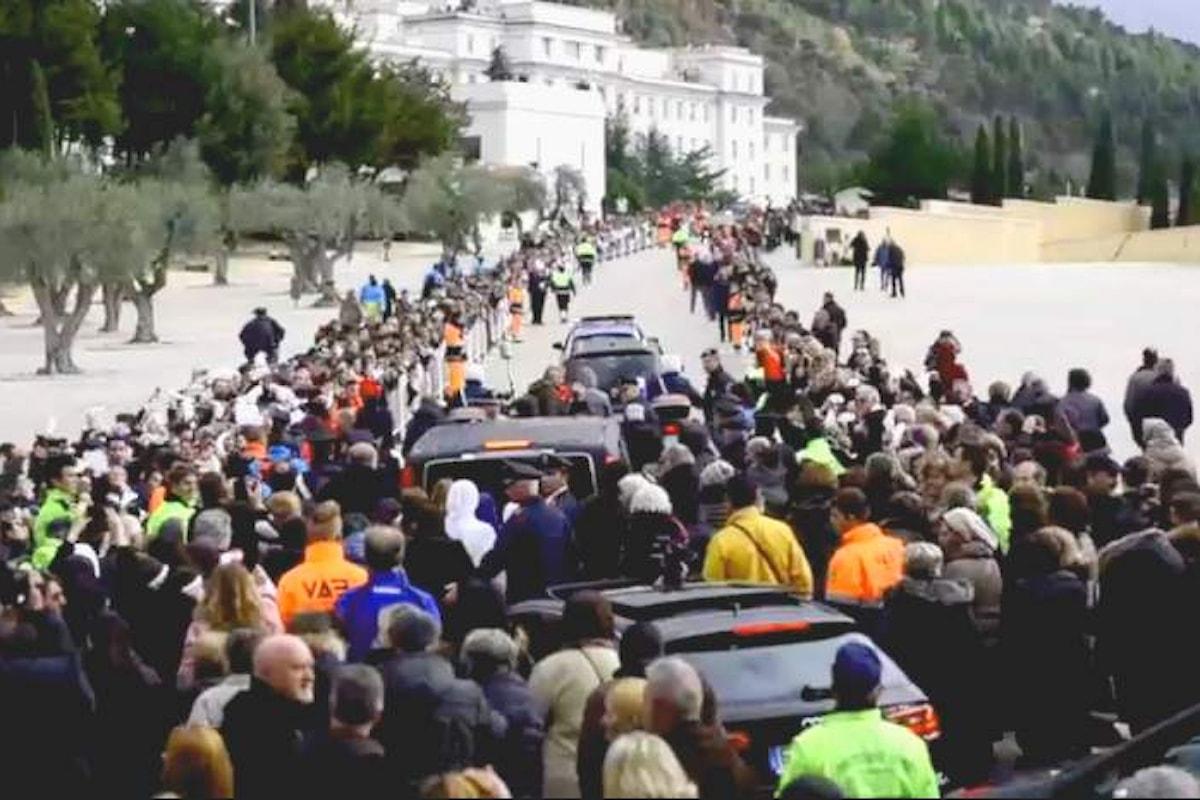 È iniziato il viaggio di Padre Pio a Roma per il Giubileo della Misericordia