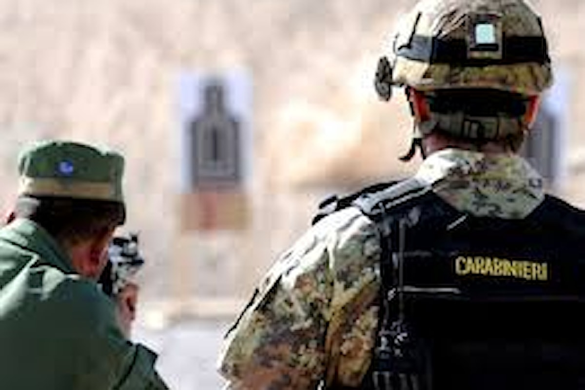 Afghanistan: Carabinieri portano a termine addestramento poliziotte afgane