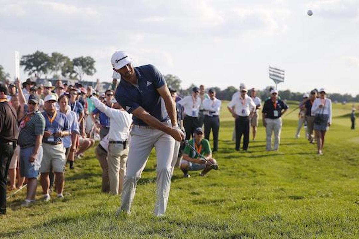 Golf; Us Open: Johnson vince il suo primo Major e scaccia i fantasmi del passato