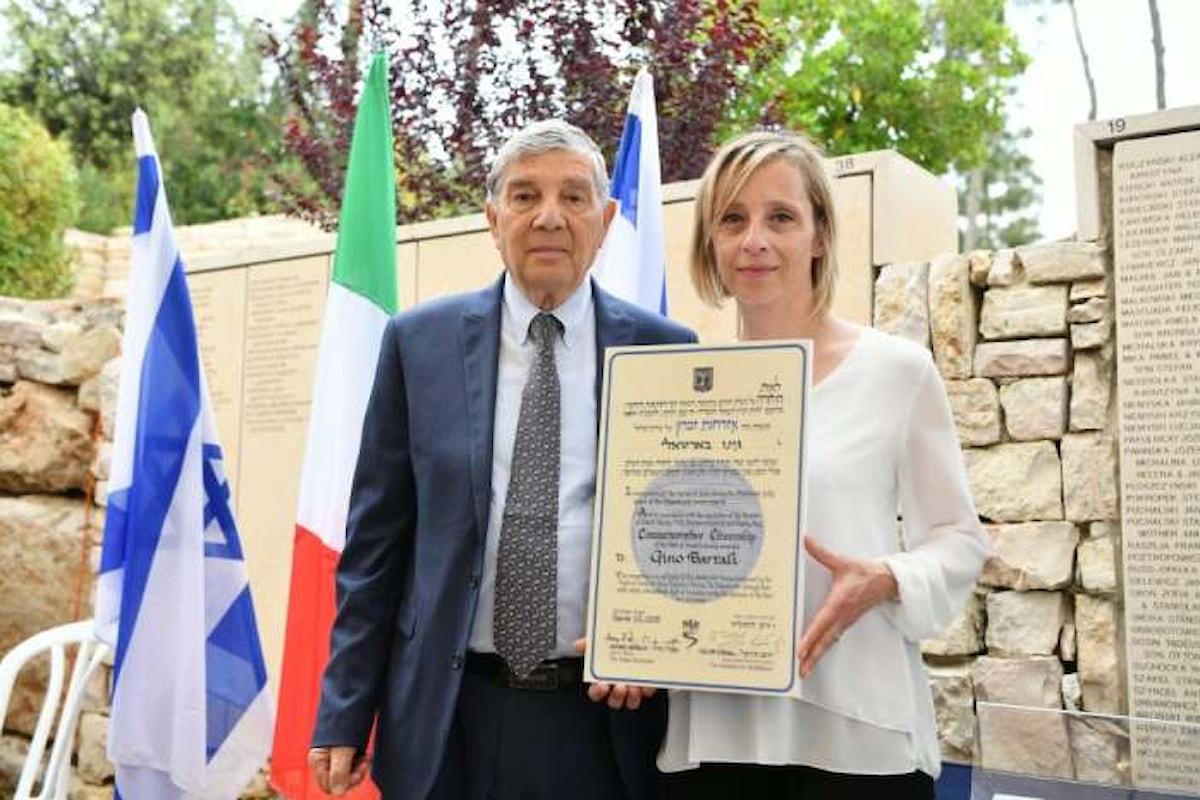 Quale onore vi può essere nella cittadinanza israeliana a Gino Bartali?