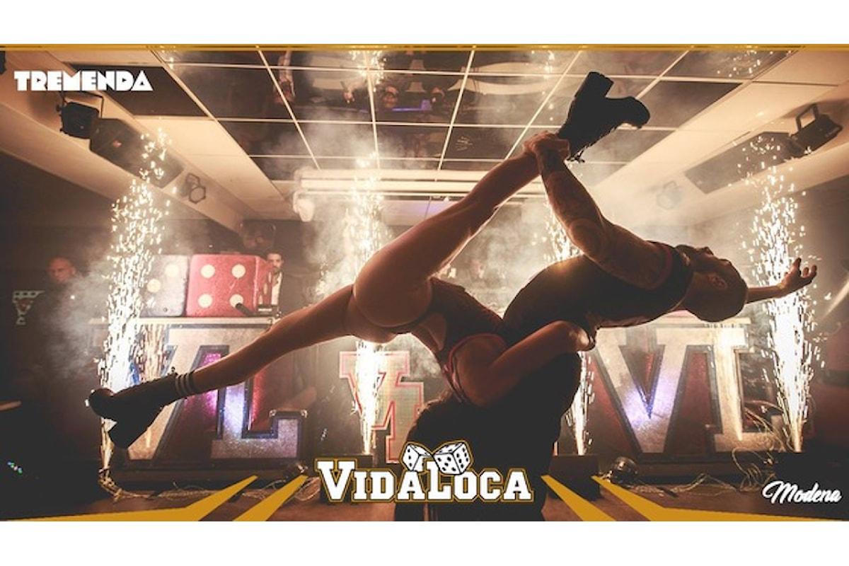 Vida Loca, Por una Noche Mas Caliente: party scatenati tra Riccione, Bari, Reggio Emilia, Mantova, Torino, Ferrara, Bergamo (...)