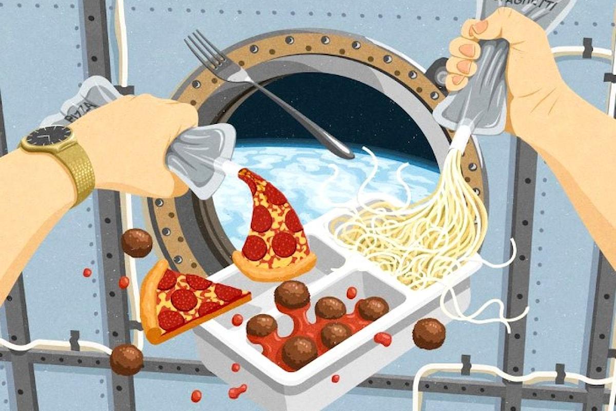 Space Dinner, il cibo degli astronauti sulle tavole terrestri. Il primo evento al Bolgia di Bergamo il 18/11/17 per sole 50 persone
