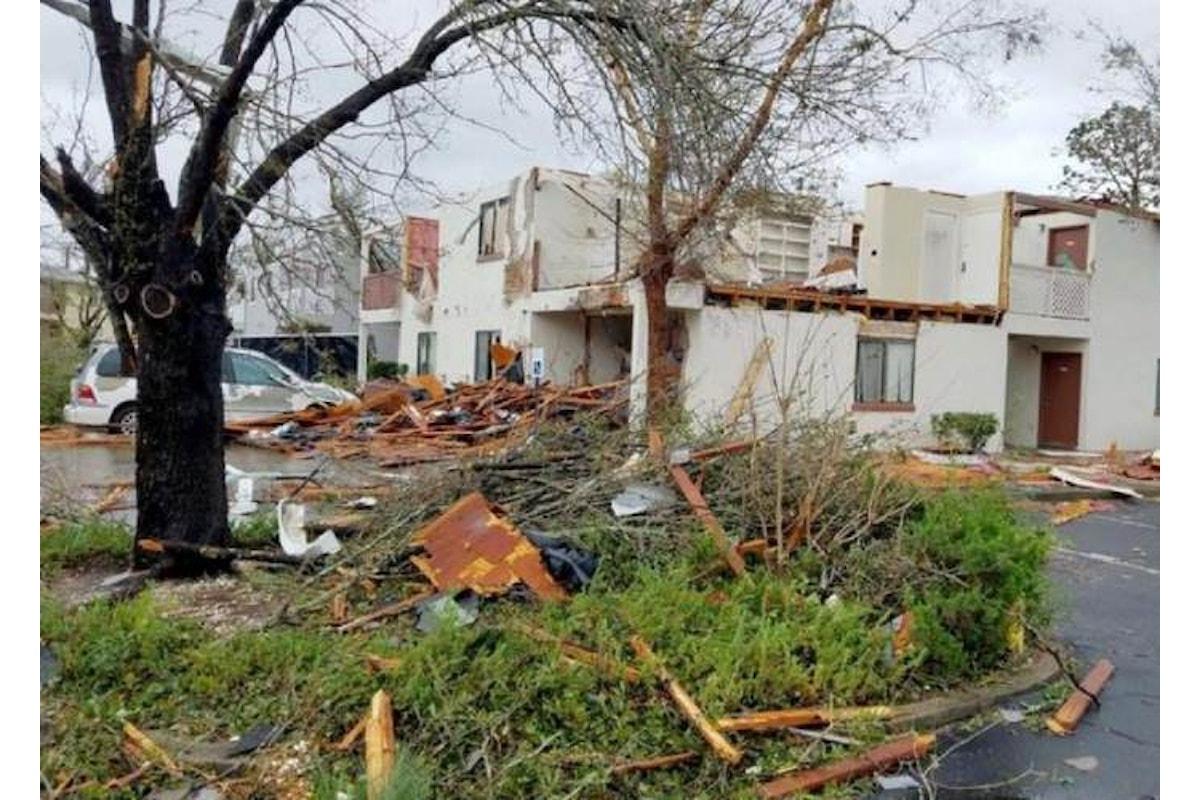 L'uragano Michael ha perso forza dopo aver distrutto la Bay County nel nord della Florida