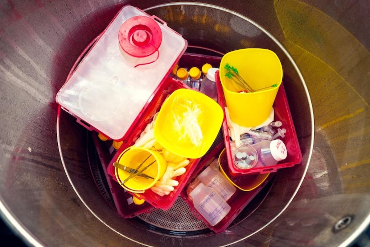 La triturazione dei rifiuti ospedalieri e dei rifiuti medicali
