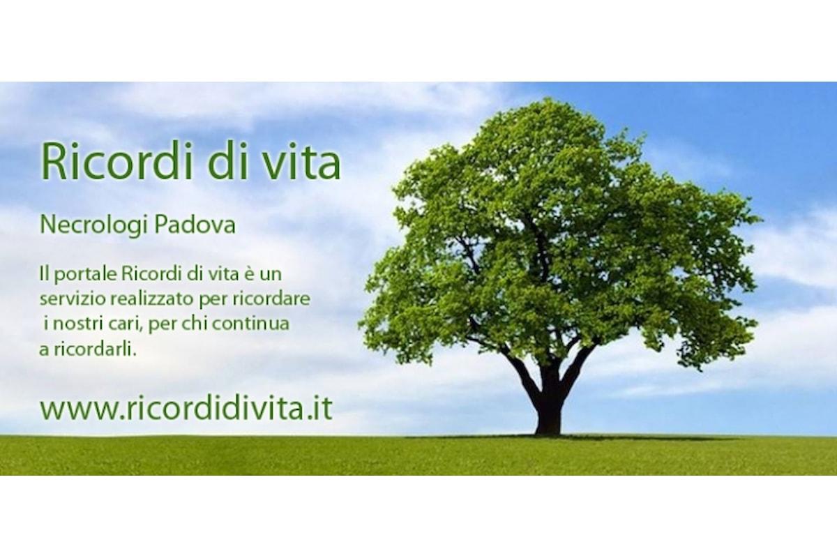 Necrologi Padova
