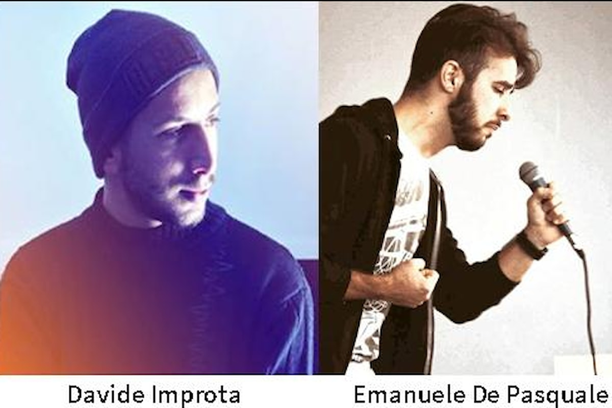 Davide Improta e Emanuele De Pasquale giovanissimi attori dell'area Est di Napoli, in scena al Politeama di Torre Annunziata.
