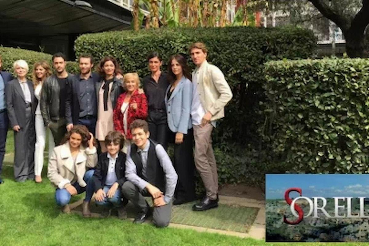 """""""Sorelle"""" da giovedì 9 marzo su Rai1 con sei puntate di una storia ricca di mistero e colpi di scena"""