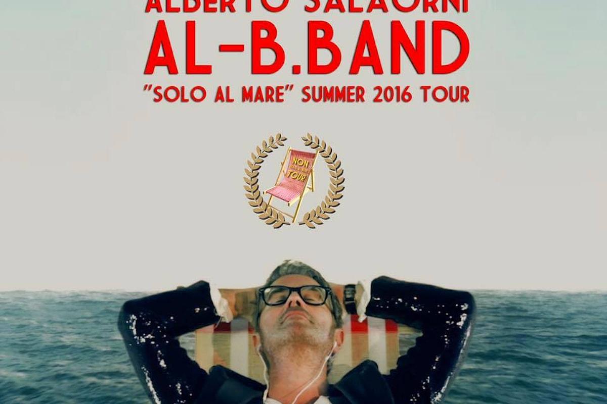 25/7 - Alberto Salaorni & Al-B.Band presentano il video di Solo al Mare al Lido Garda Beach (VR)