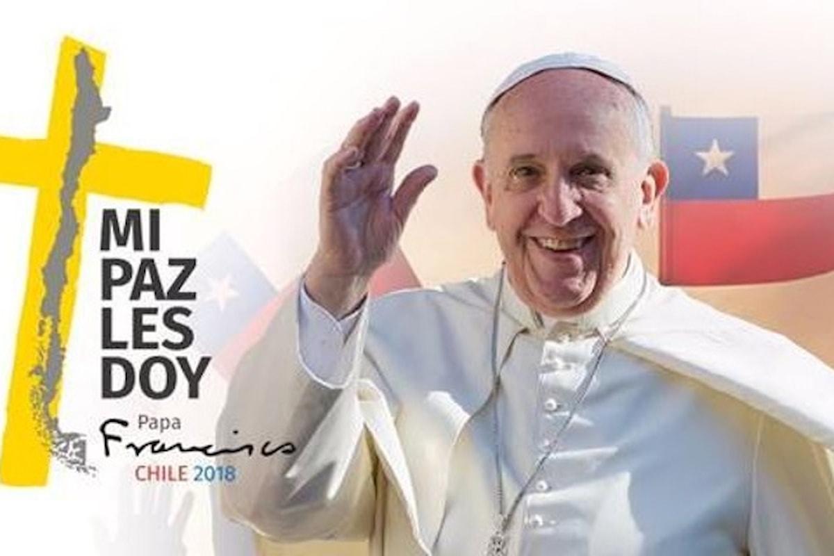 Dal 15 al 22 gennaio il viaggio apostolico di Papa Francesco in Cile e Perù