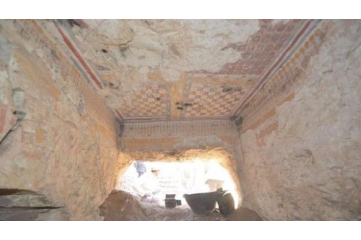 Egitto: scoperta nuova tomba a Luxor