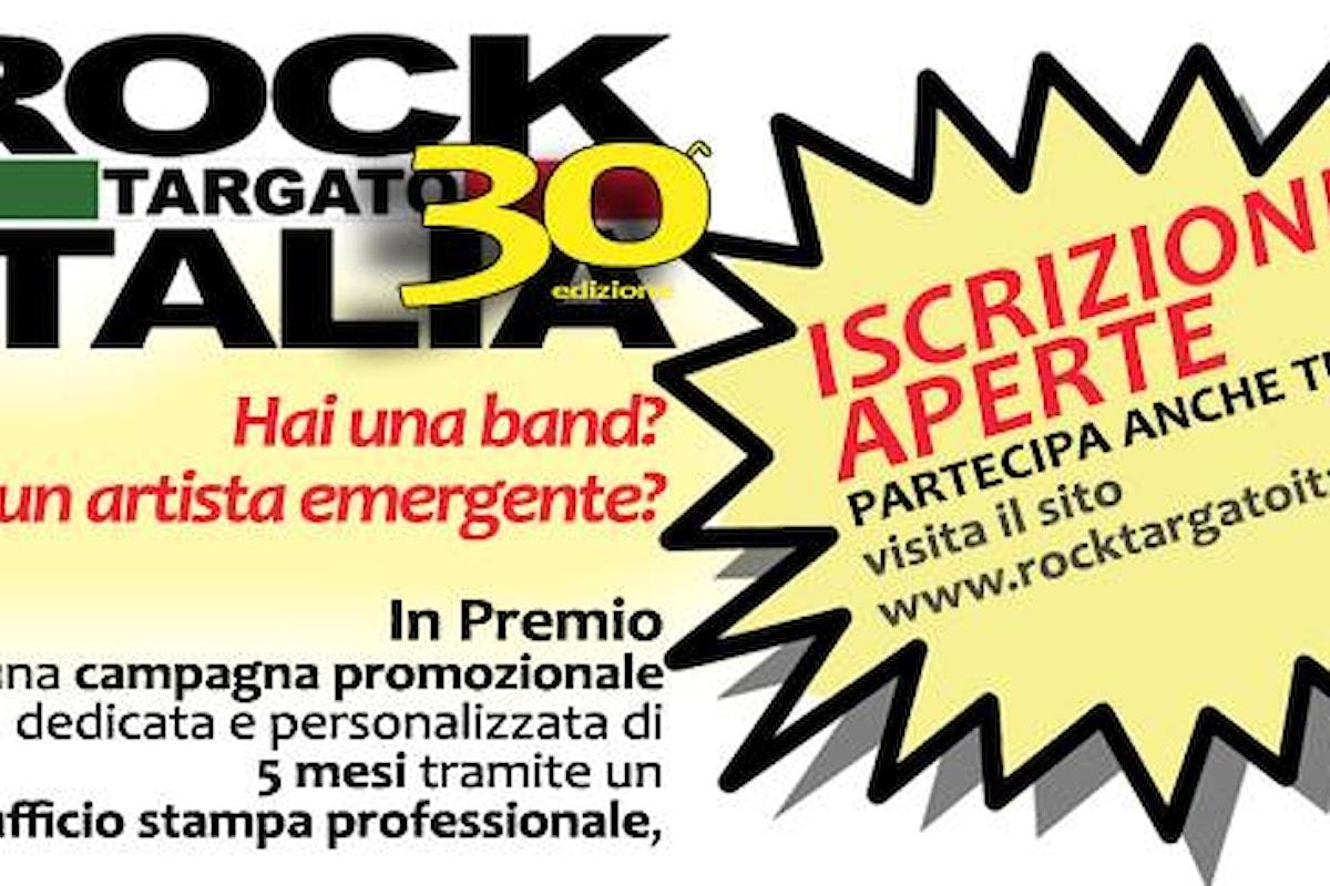 Sono aperte le iscrizioni gratuite al Contest Rock targato Italia, 30ª edizione. Termine ultimo 31/10/2017