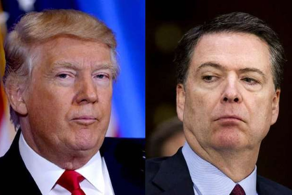 Trump licenzia il capo dell'FBI James Comey e crea un caso istituzionale