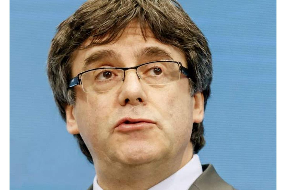 Arrestato in Germania Carles Puigdemont