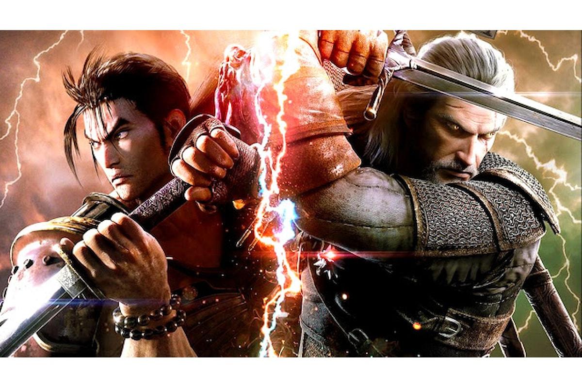 Geralt di The Witcher farà parte del roster del prossimo SoulCalibur