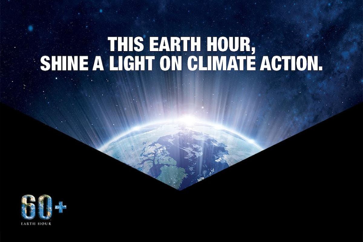 Il mondo spegne le proprie luci per un'ora in occasione dell'Earth Hour 2016