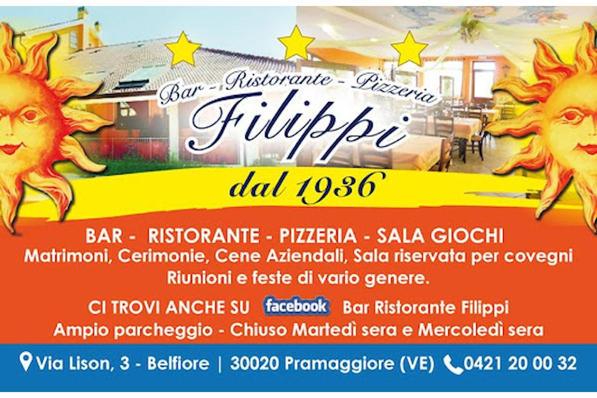 Borghi d'Europa a Belfiore: il Ristorante Pizzeria Filippi dal 1936