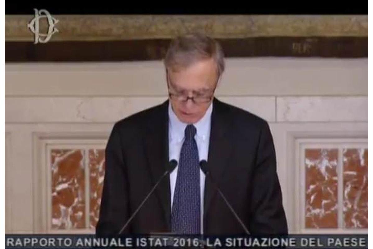La situazione dell'Italia nel rapporto annuale 2016 pubblicato dall'Istat