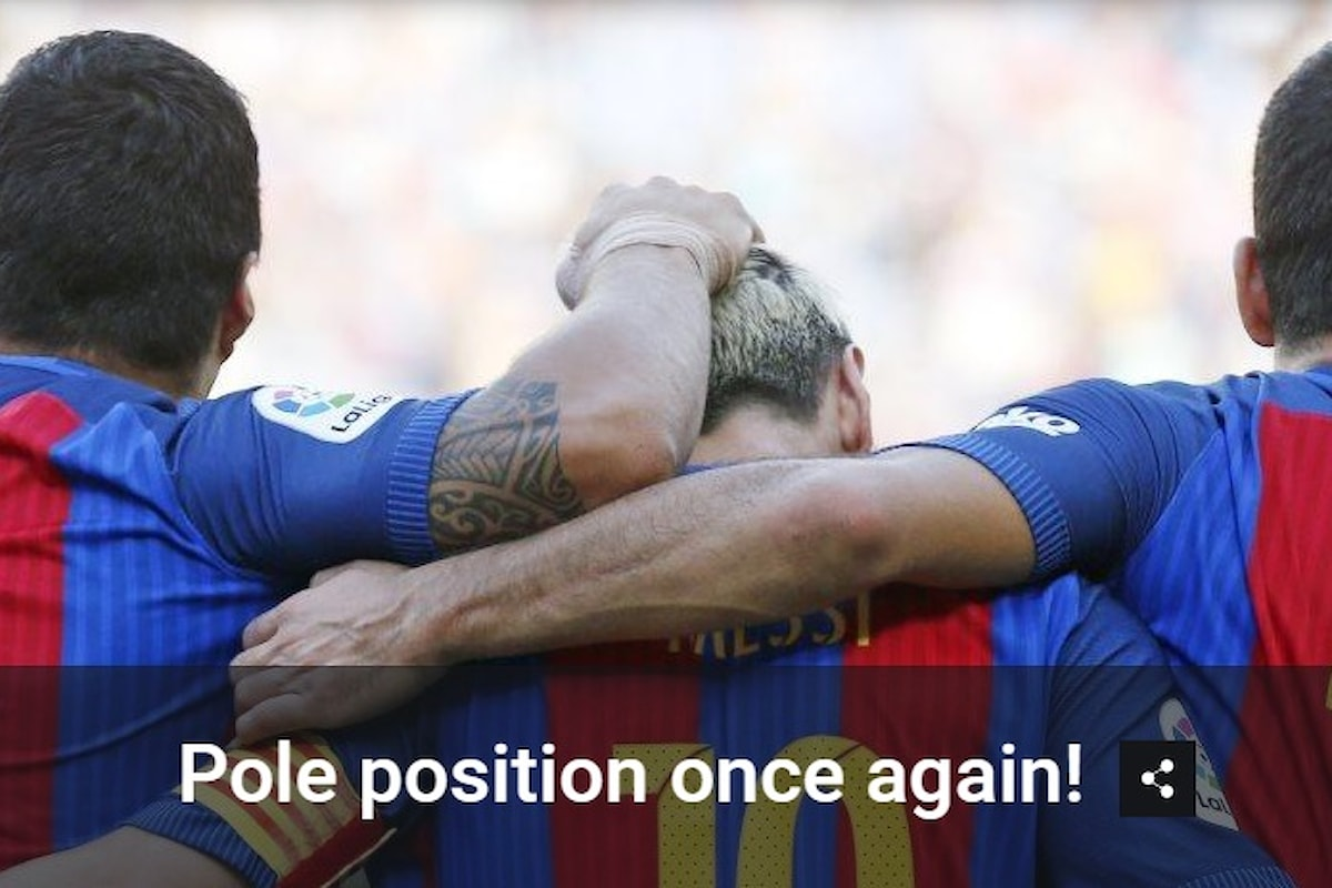 Ripartita la Liga: vincono Barcellona e Real Madrid, solo pari per l'Atletico di Simeone