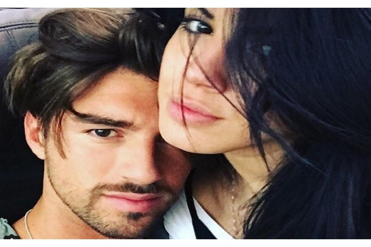 Andrea Damante oggi a Verissimo con Giulia De Lellis Voglio essere un padre giovane.