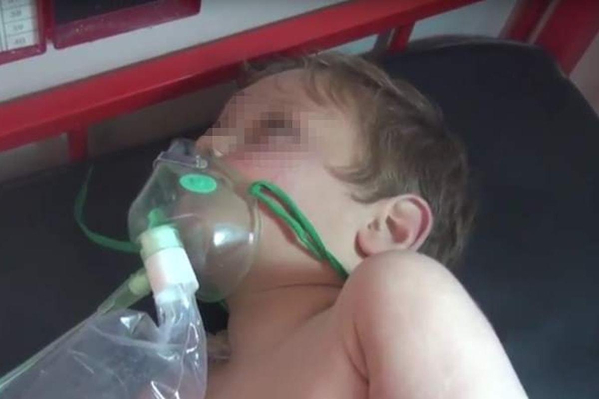 La Siria usa armi chimiche nella provincia di Idlib uccidendo decine di persone, anche bambini