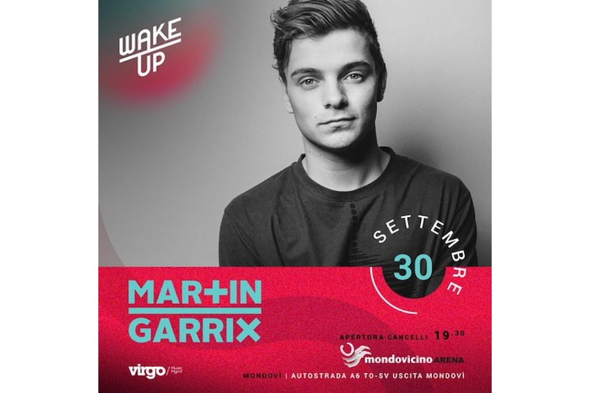 30/9 Martin Garrix @ Wake Up, Mondovicino - Mondovì (CN)