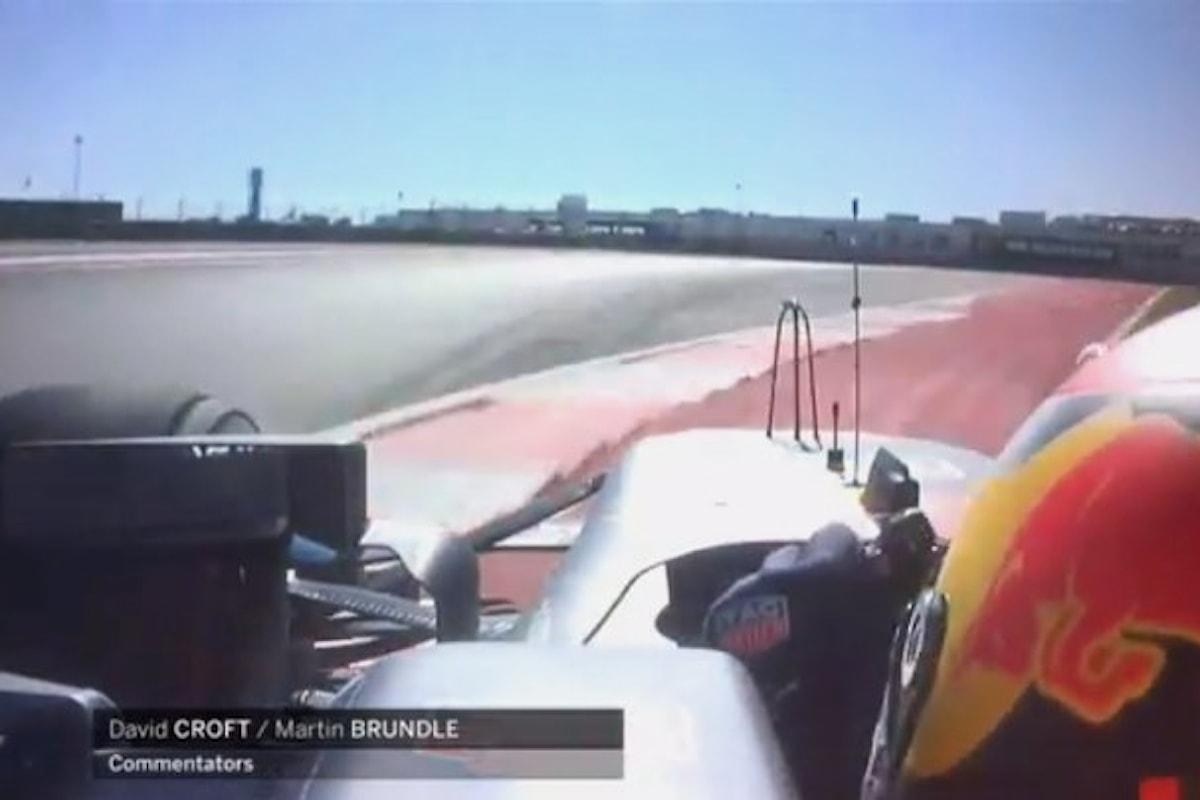 Formula 1, nel GP degli Stati Uniti Verstappen penalizzato a fine gara
