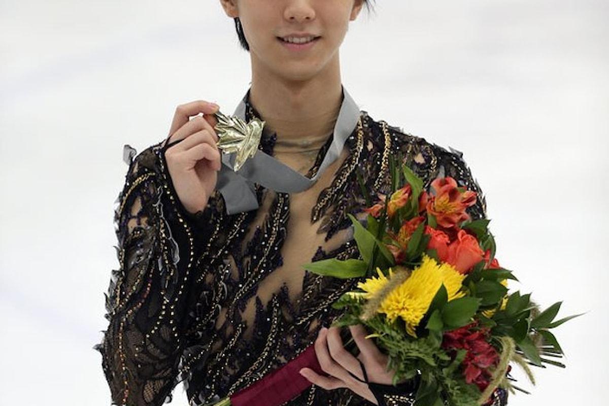 Pattinaggio di figura, vittoria per Yuzuru HANYU nel suo debutto stagionale all'Autumn Classic International