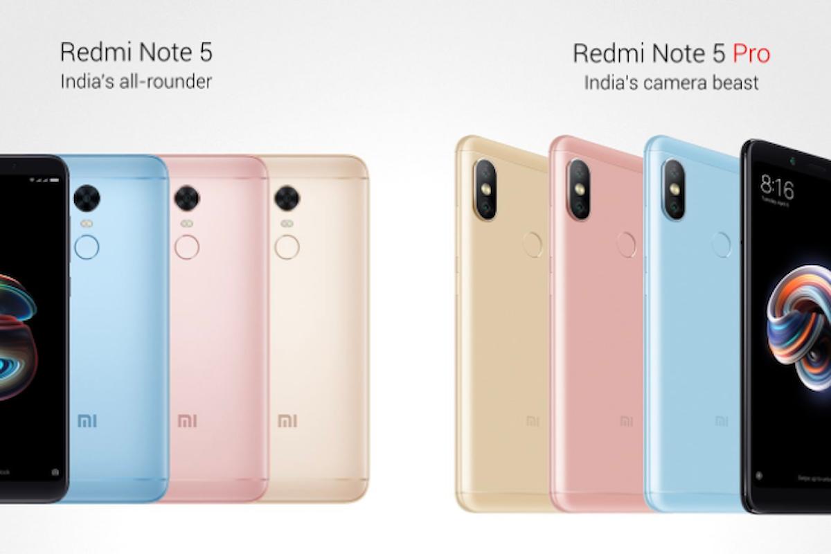 Redmi Note 5 e Redmi Note 5 Pro presentati ufficialmente, altri due interessanti smartphone made in Xiaomi