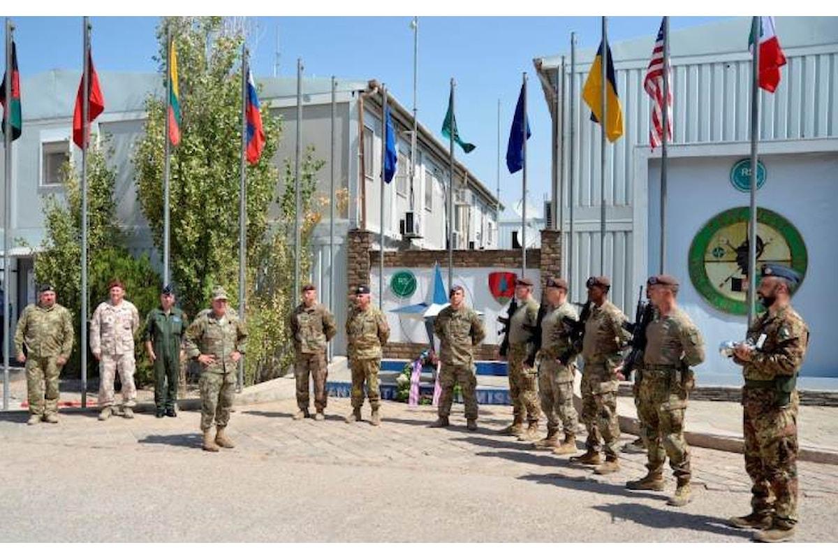 Afghanistan, il Generale Miller Comandante di Resolute Support in visita ai militari italiani