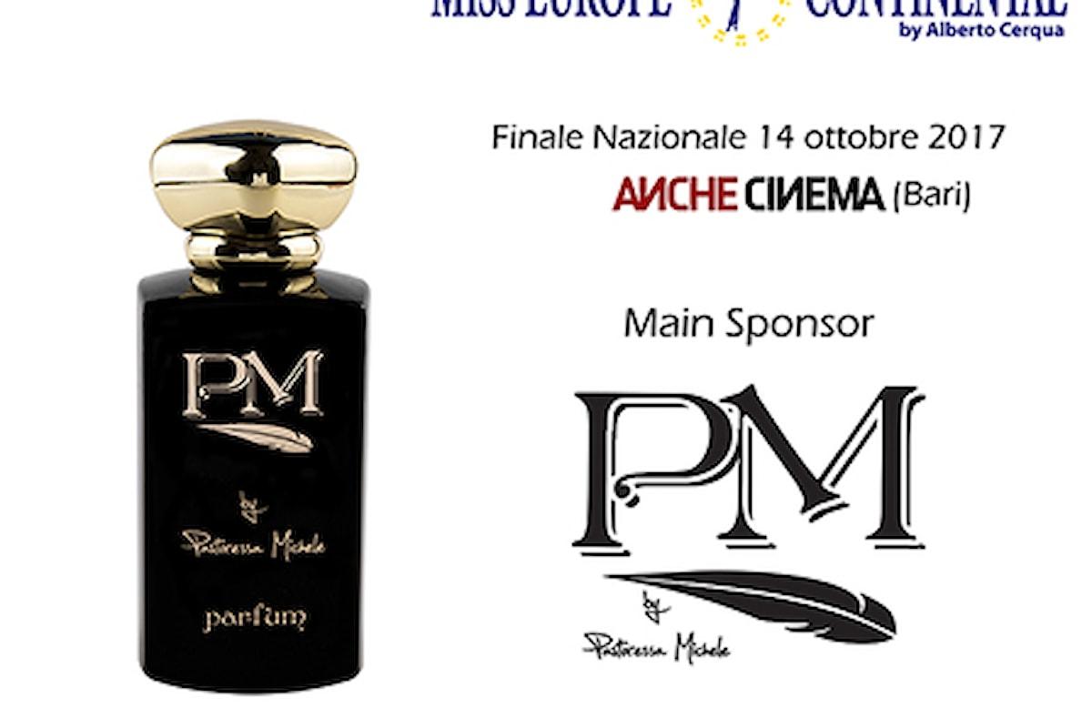 PM Parfum Main Sponsor per Miss Europe Continental Italia