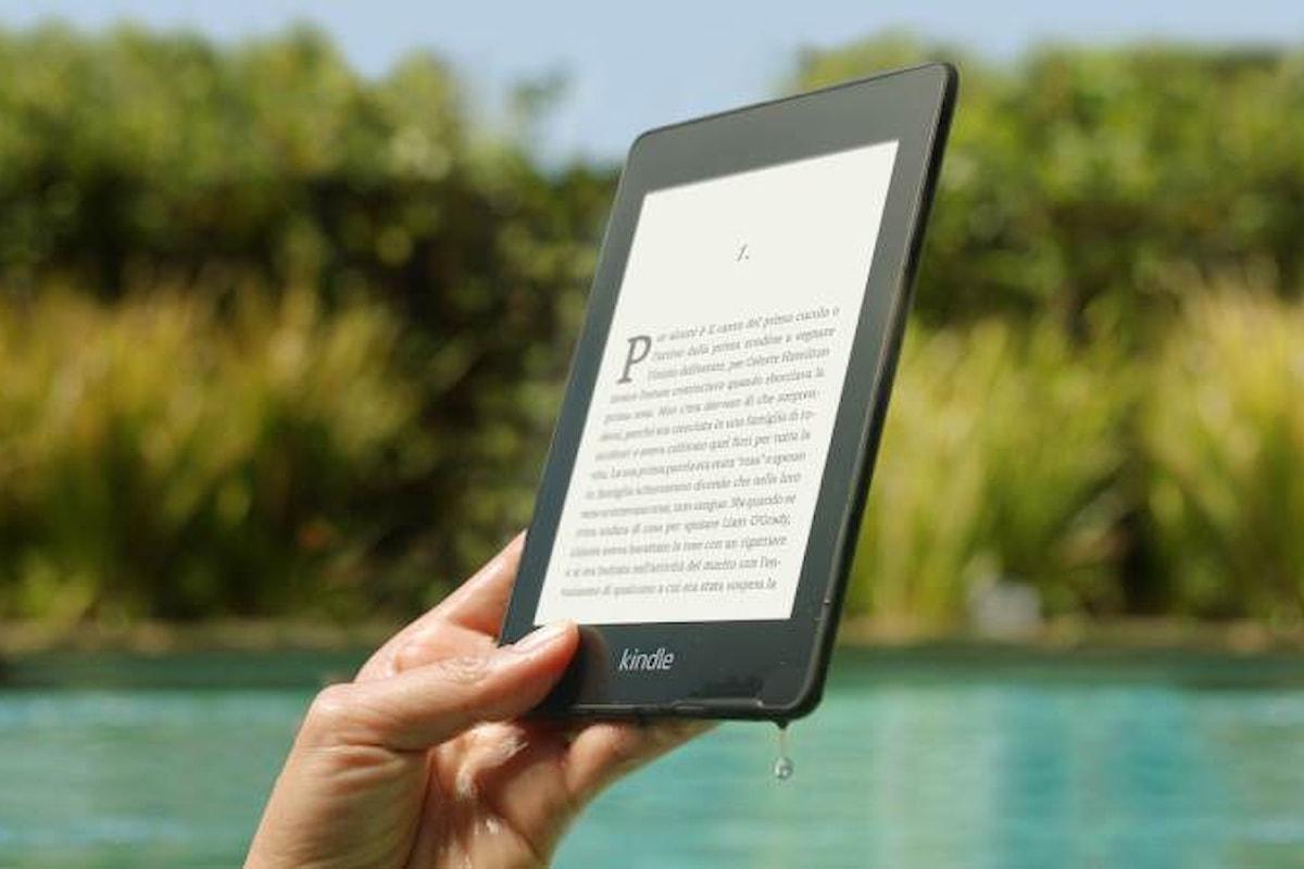 Amazon annuncia il nuovo Kindle Paperwhite, adesso resistente all'acqua