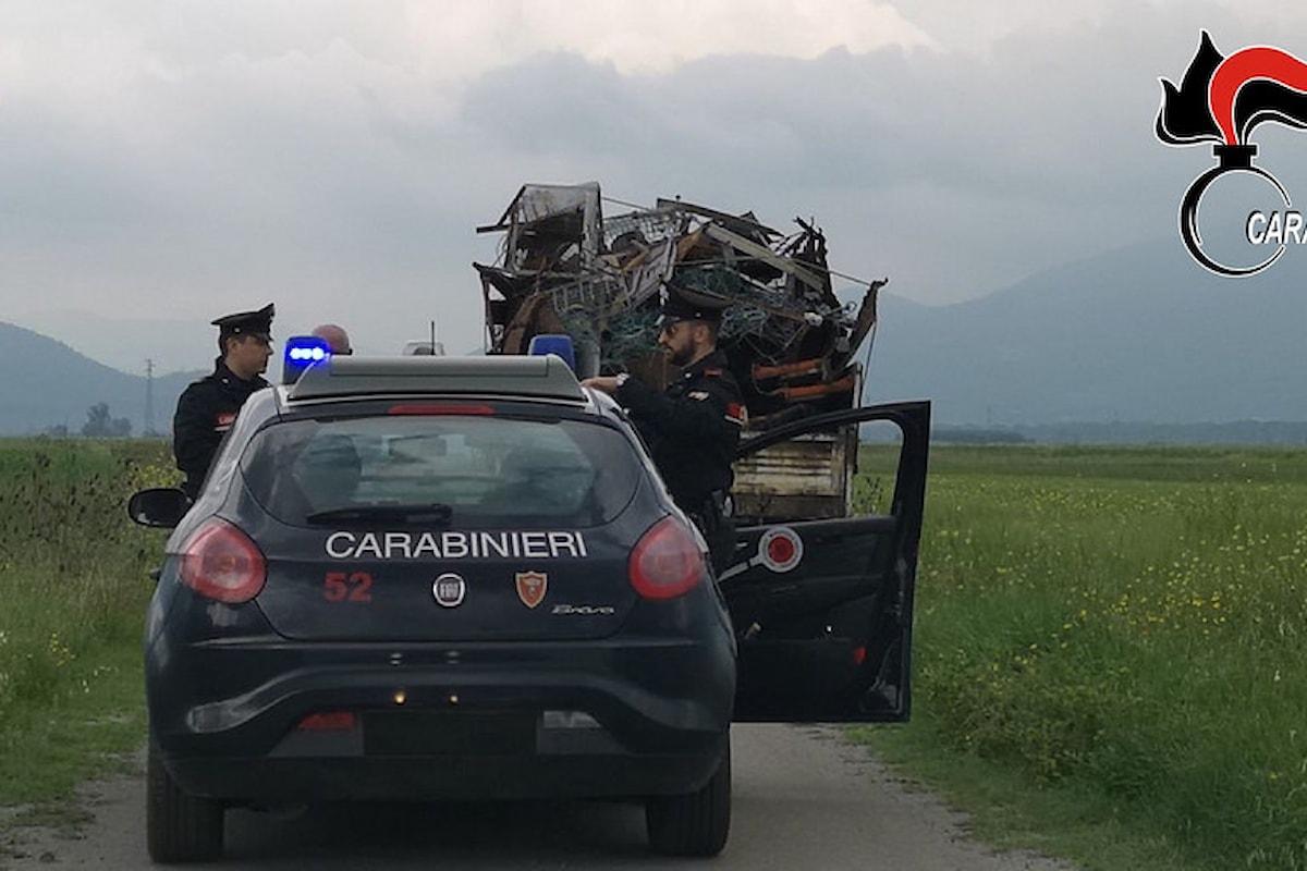 Trasporto e gestione di rifiuti speciali, una denuncia nel Vallo di Diano