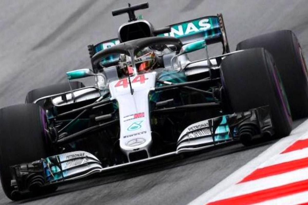 Formula 1, nelle libere del GP d'Austria è Hamilton il più veloce