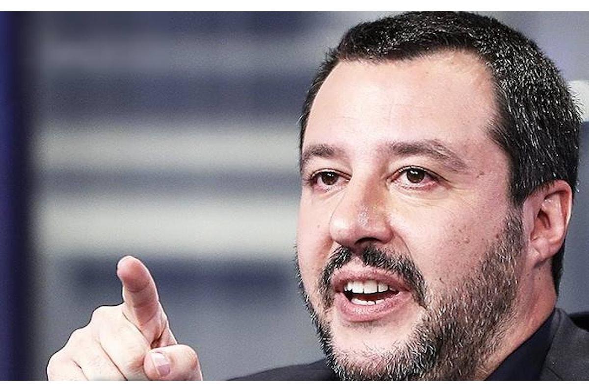 Non disturbate il ministro Salvini, specialmente quando lavora!