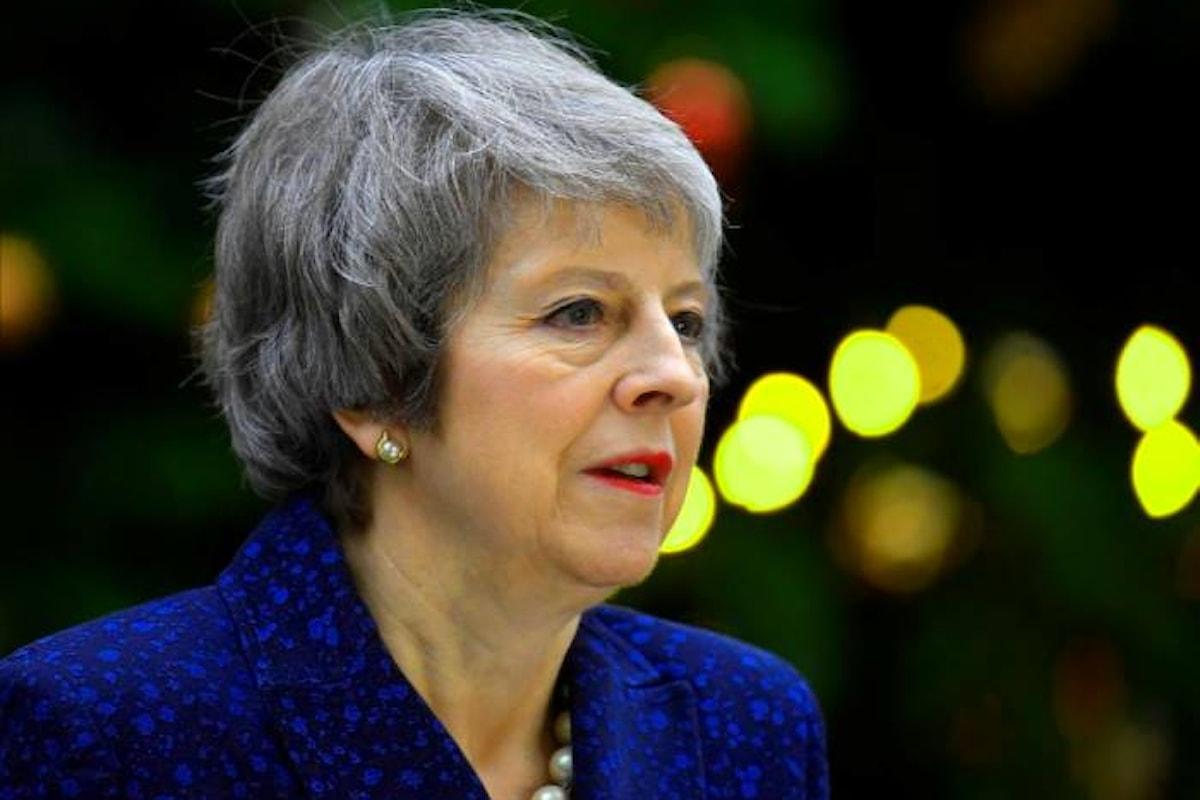 E adesso una parte dei conservatori vuole cacciare Theresa May