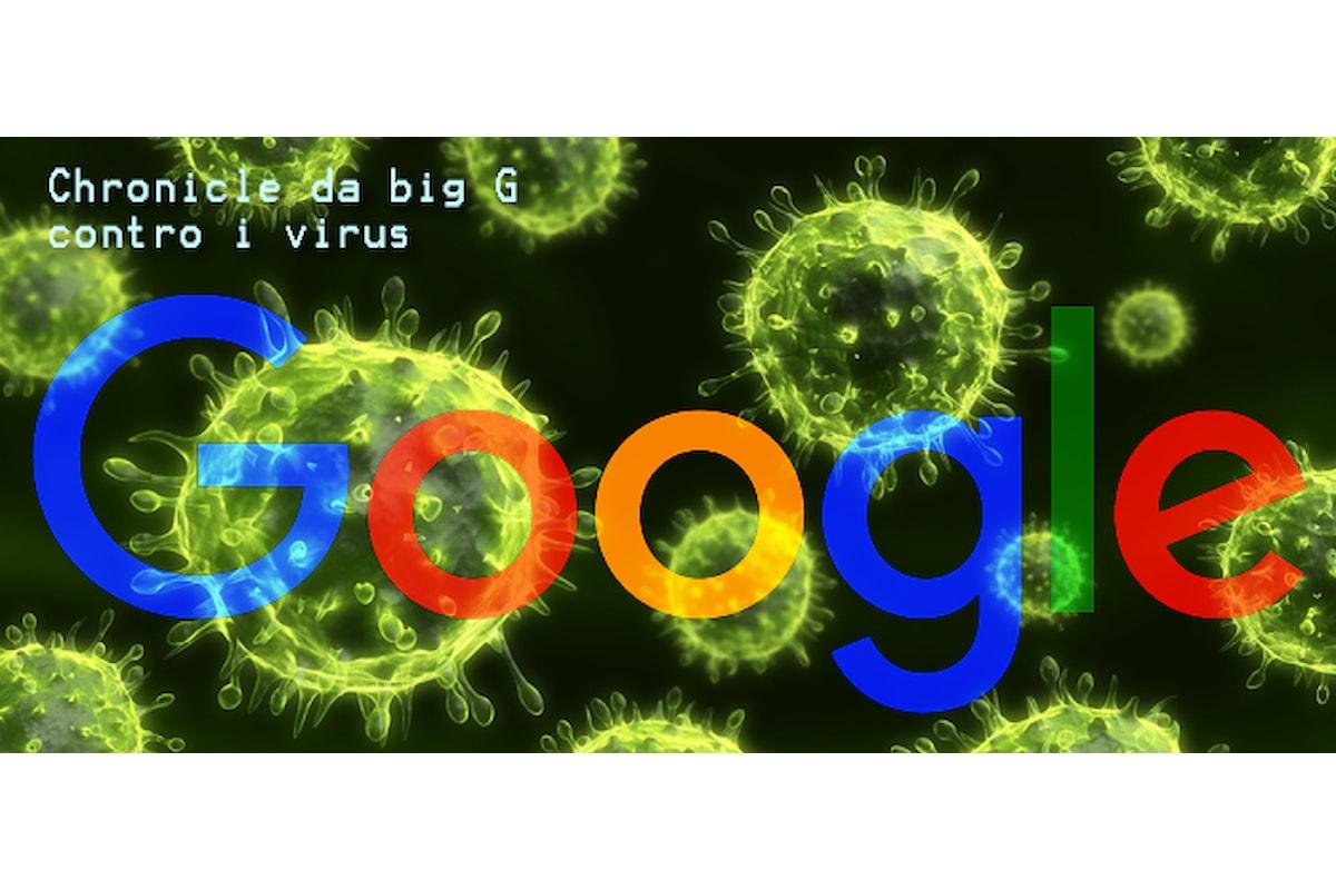 Chronicle la cybersicurity targata Google