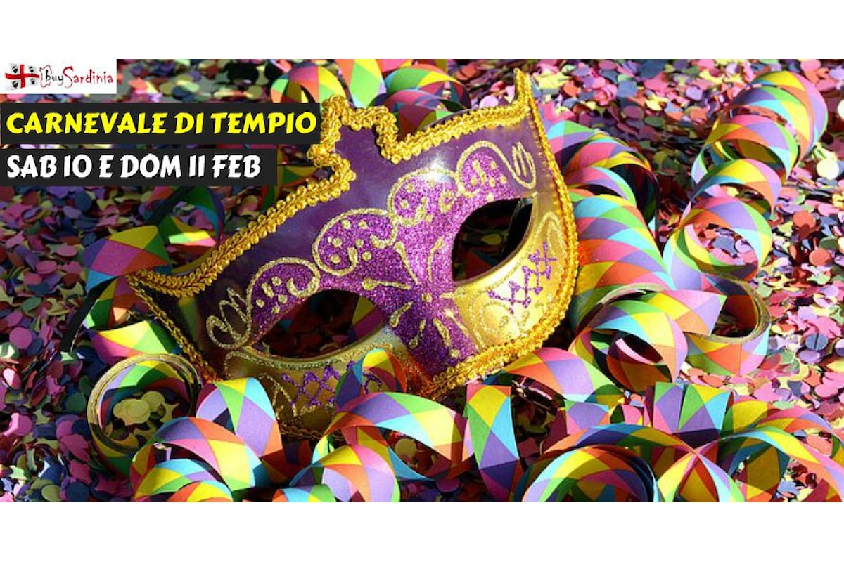 Al Carnevale di Tempio Pausania con buySardinia