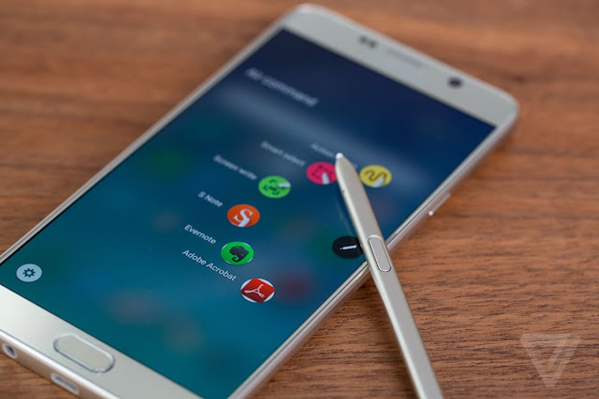 Samsung Galaxy Note 6, sarà così!