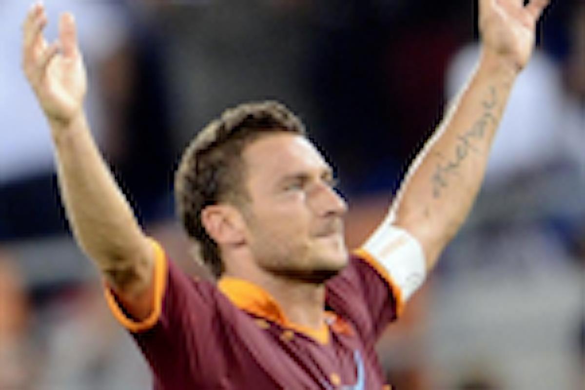 I bookmakers credono che a fine stagione Totti si ritiri
