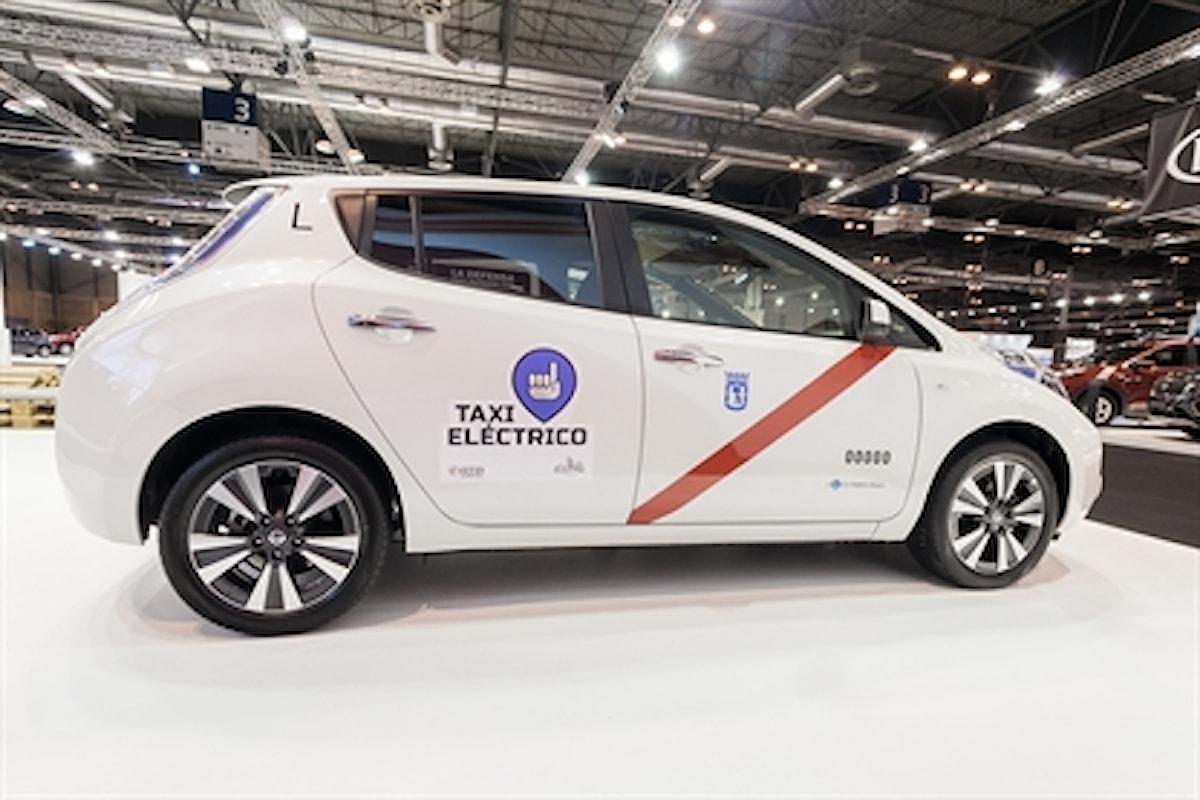 L'elettrico si fa strada anche nel mondo dei taxi...