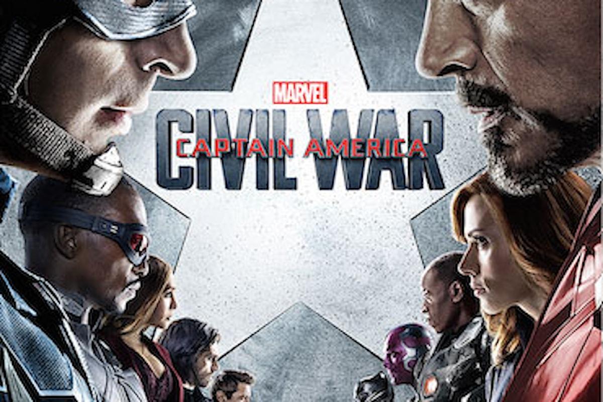 Recensione del film Captain America: CIVIL WAR, dolore e rancore