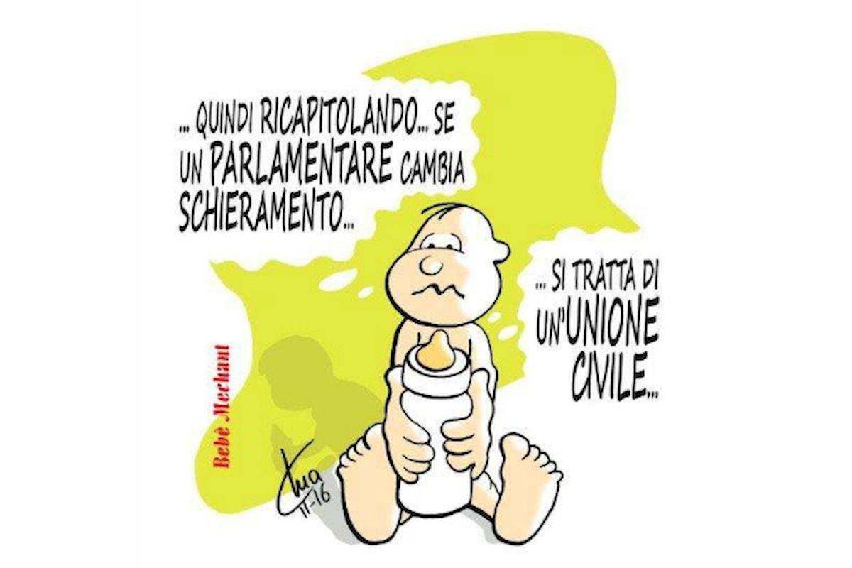 Cangurotto in fricassea. Vignetta di Mario Airaghi