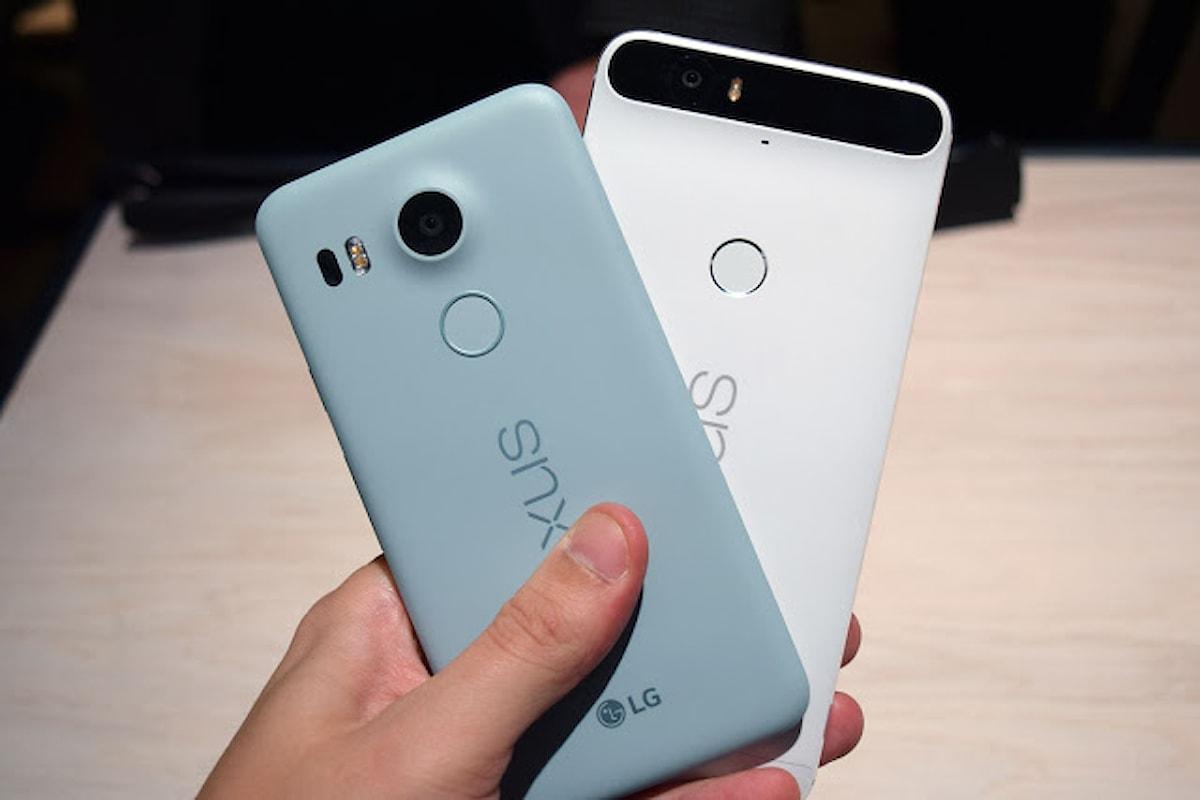 Google | Nexus 6p e 5x scontati su Play Store