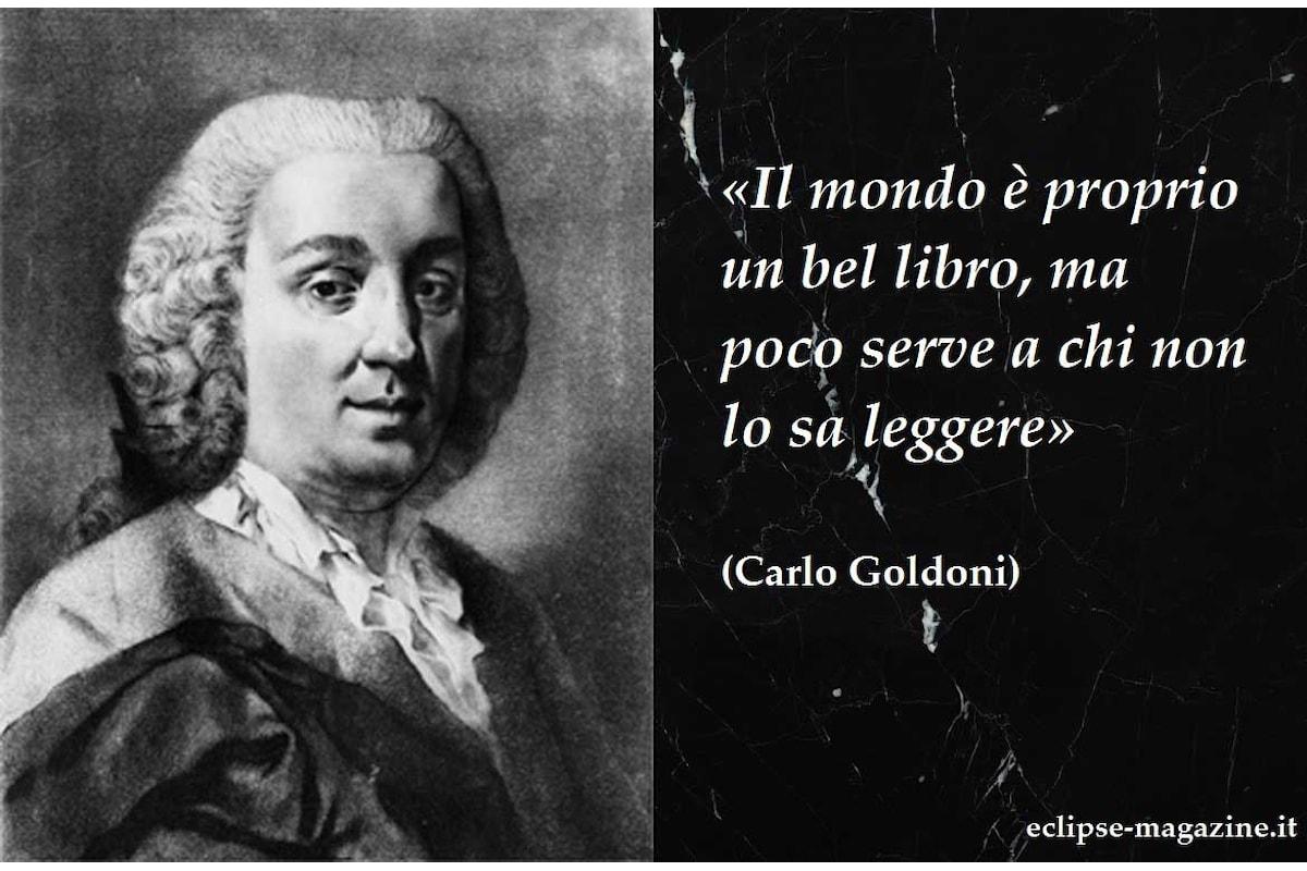 Aforisma di oggi, 23 Maggio: Carlo Goldoni