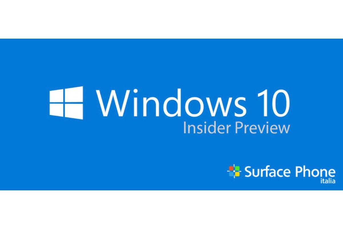 Tutti i passi per installare Windows Insider sul tuo smartphone Windows 10 mobile | Surface Phone Italia