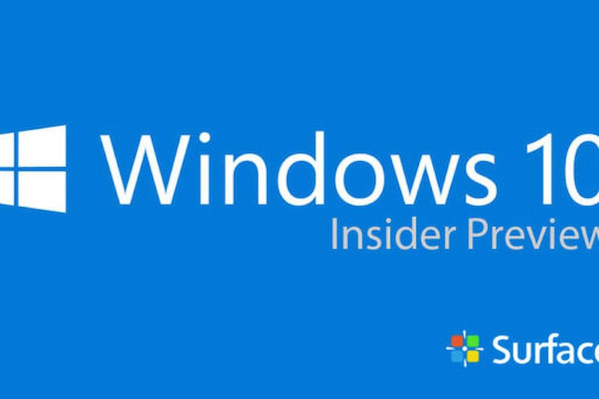 Tutti i passi per installare Windows Insider sul tuo smartphone Windows 10 mobile   Surface Phone Italia