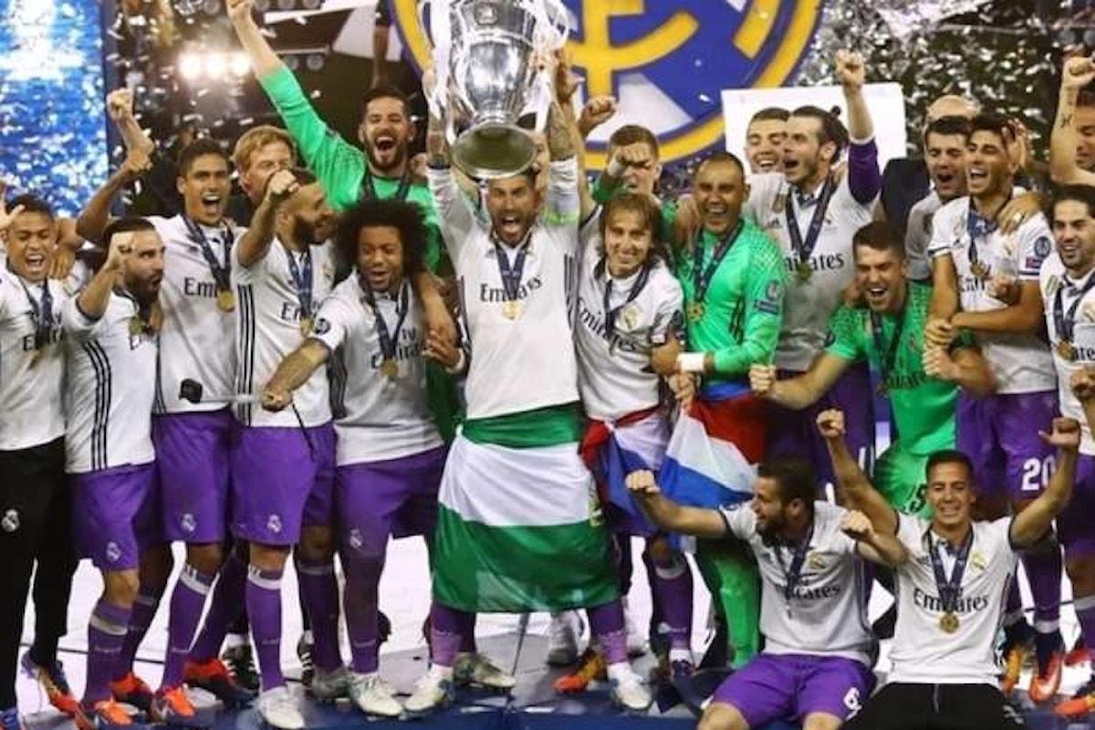 La Champions League sarà di nuovo sui canali Sky per tre anni a partire dalla stagione 2018/19